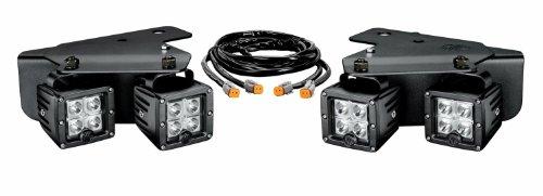 KC HiLiTES (341) C3 LED Bumper Light System with Harness for Ford SVT Raptor