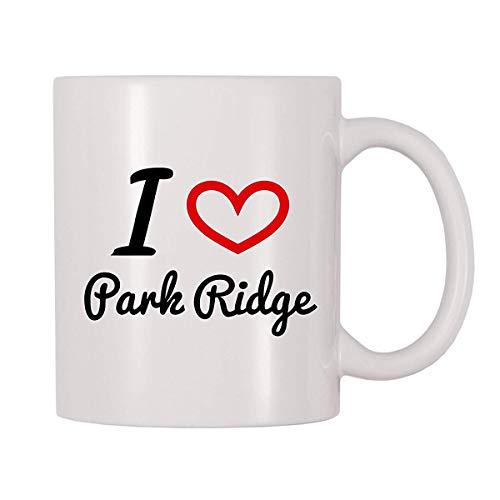 (Ludem I Love Park Ridge Coffee Mug (11 oz))