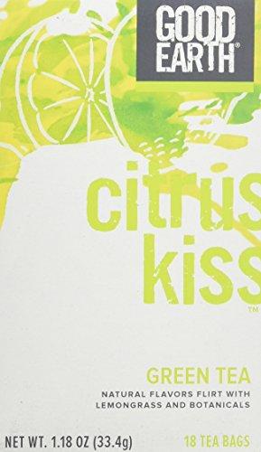 Good Earth Citrus Kiss Green Tea - 18 tea bags