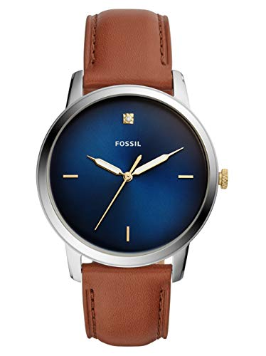 Fossil Mens Analogue Quartz Watch with Leather Strap FS5499