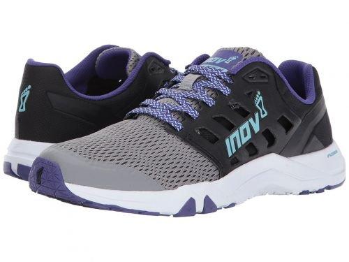 投資未知の食堂Inov-8(イノヴェイト) レディース 女性用 シューズ 靴 スニーカー 運動靴 All Train 215 - Grey/Black/Purple [並行輸入品]