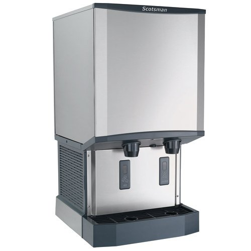 - Scotsman HID540A-1 Meridian Countertop Air Cooled Ice Machine and Water Dispenser - 40 lb. Bin Stora