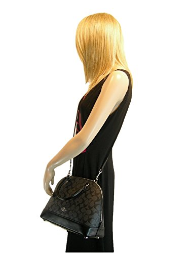 Matching Hand Bag Black C Coach Set Signature Purse 2 Gray New amp; Wallet Piece TXI8qwTn7