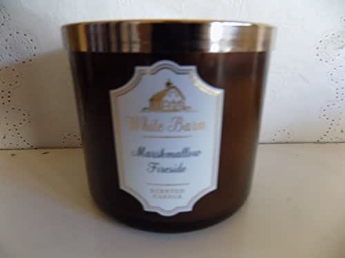 Marshmallow Fireside 3 Wick Candle From White Barn 2017 Edition