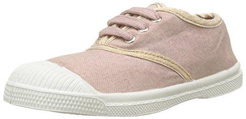 Bensimon Tennis Shinnypiping - Zapatillas Unisex Niños Rose (4119 Cuivre/Rose Grisé)