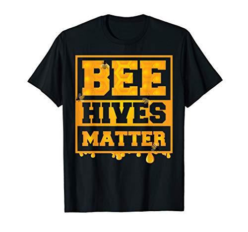 Bee Hives Matter Awareness Tee | Cool Honey Lovers Bee Gift