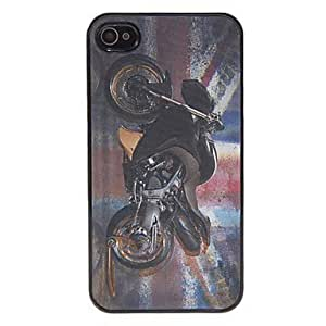 3D Design Cool Black Motorcycle Pattern Hard Case for iphone 6 4.7