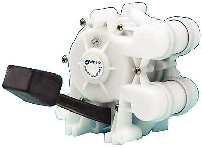 Galley Pump (Siam Shopping Whale Water Systems Gusher Galley Foot Pump Mk III GP0550)