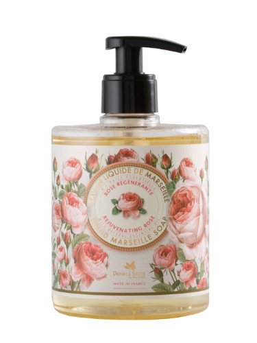 Panier des Sens Rose Liquid Marseille soap – Made in France 97% natural – 16.9floz/500ml