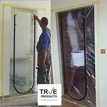 True Products Dust Stop Zip Door Kit - Pre-Assembled for easy installation. by & Amazon.com: True Products Dust Stop Zip Door Kit - Pre-Assembled ... pezcame.com