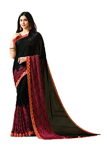 Da Facioun Indian Sarees For Women Wedding Designer Party Wear Traditional Saree. Da Facioun Saris Indiens Pour Les Femmes Portent Partie Concepteur De Mariage Sari Traditionnel. Multi Color 6 Multicolore 6