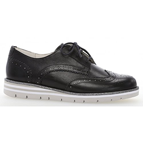 Gabor Milton Navy Shoe Up 558 Lace 82 4r4Oz
