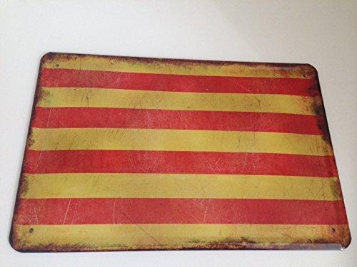 Sachen aus Blech Cartel de Chapa Países Bandera National ...