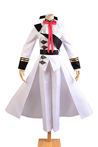 Seraph of the End Vampires Ferid Bathory Cosplay Suits with Cape