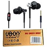 Ubon Universe-UB185 In-Ear Big Daddy Bass Quality Earphone Black