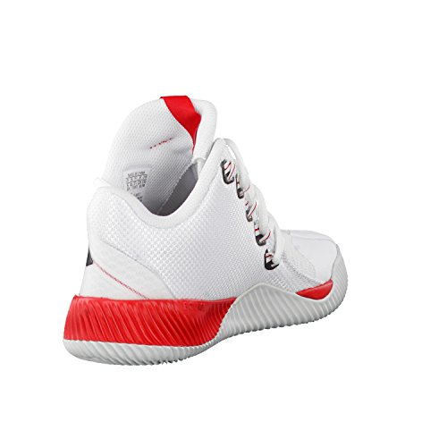 Adidas Unisex-Kinder Energy Bounce Bb J Turnschuhe, Elfenbein (Ftwbla/Negbas/Gritra), 36 EU