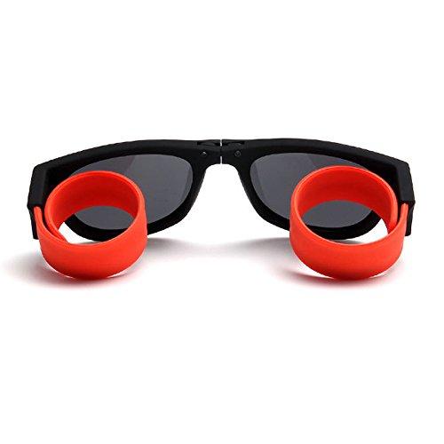 Polarized Sunglasses for kids girls Slapsee Foldable Fashion for Sports Clip On Clothing - Slapsee Sunglasses