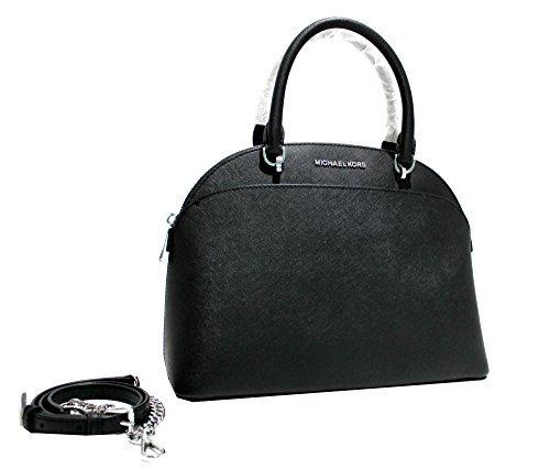 7c4899281491 Emmy Large Dome Saffiano Leather Satchel Shoulder Bag Purse Handbag. Michael  Kors ...