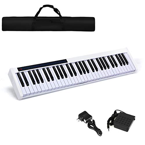Best Buy! Costzon 61-Key Portable Touch Sensitive Keys Digital Piano, Upgraded Premium Electric Keyb...