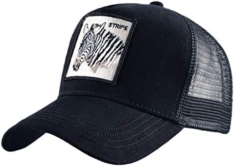 Goodaily Funny Hear The Other Side Too Trucker Hat Baseball Mesh Caps Black