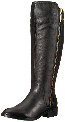 ALDO Mihaela B US Leather Black Riding Boot 6 Womens 5 w r7qzx6r