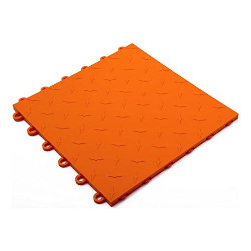 Speedway Garage Tile 789453O Orange Garage Floor Tile