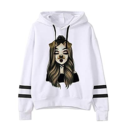 swiftlala New Ariana Grande Sweatshirt Hoodie Women Cool Print Sweatshirts Pullover Hoodies