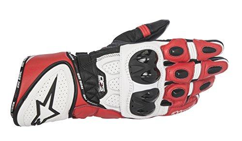 Alpinestars Men's GP Plus R Leather Glove (Black/White/Red, X-Large) by Alpinestars