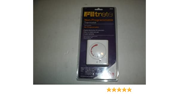 Filtrete Non-Programmable Thermostat - Nonprogrammable Household Thermostats - Amazon.com