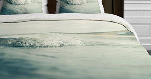 Deny Designs Bree Madden Ocean Wave Duvet Cover, Twin ()