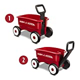 Radio Flyer My 1st 2-in-1 Wagon, Red