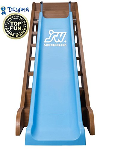Slide Whizzer Stair Slide for Kids  - Indoor, Outdoor Fun Playground Equipment - Toddler Slide - Play Toys for Toddlers