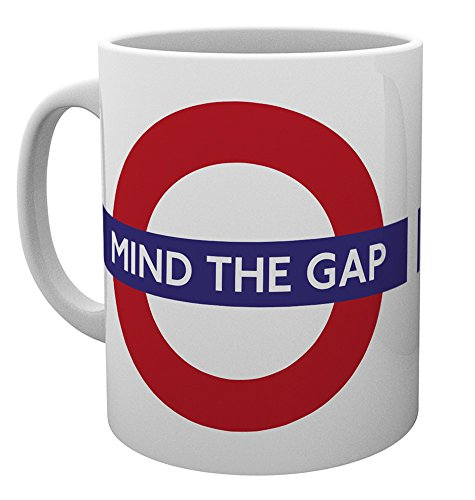 (Gb Eye Ltd, Transport For London, Mind The Gap, Mug, Ceramic, Various, 15 x 10)