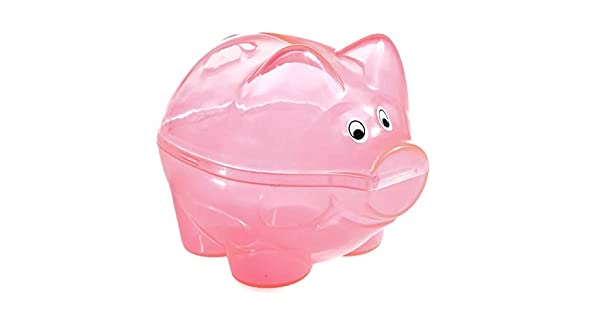Amazon.com: Rosa Piggy bancos (1 Dozen) – Bulk: Toys & Games
