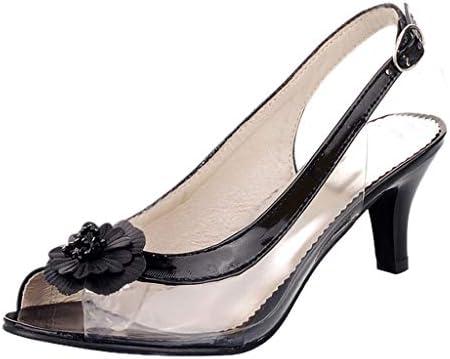 ボコダダ(Vocodada)サンダル 通勤靴 おしゃれ 流行 カジュアル 旅行 歩きやすい 便利 靴 美脚 彼女 女性 無地 痛くない 抗菌 大学生 デート 太いヒール 魚の口 ハイヒール 女性 彼女 バレンタイン 人気INS お花柄 透明 立体