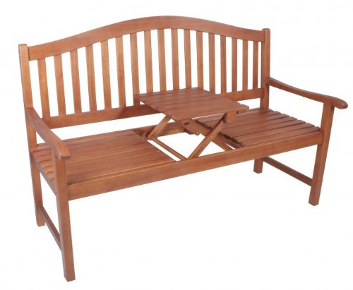 Gartenbank 2-Sitzer 3-Sitzer Eukalyptus FSC Holz, geölt