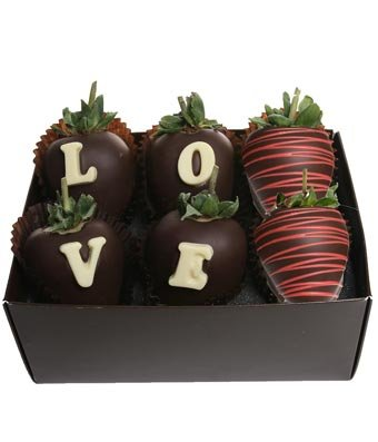 From You Flowers - Love Chocolate Covered Berry Box