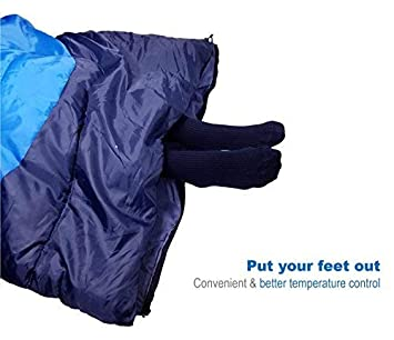 Outdoorsman Lab Camping Accessories 85 x 29.5 Soft Sleeping Bag with Compression Sack Use Lightweight Sleeping Bags For Adults, Hiking, Backpacking with Tents – Ideal Outdoor Packable Sleep Gear