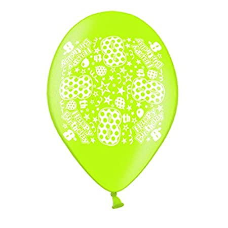 10 Simon Elvin 8th Birthday Balloons Amazoncouk Kitchen Home
