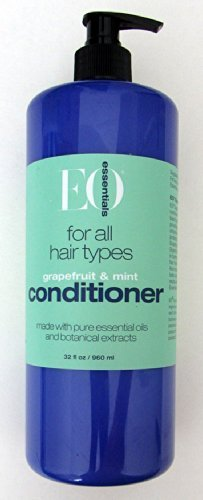 EO Essentials Rejuvenating Conditioner made with Botanical Extracts and Pure Essential Oils, Mint + Citrus, 32 oz ()
