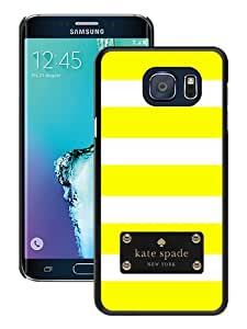 Genuine Kate Spade S6 Edge Plus Case,Kate Spade 118 Black Samsung Galaxy S6 Edge+ Screen Case Nice and Fashionable Design