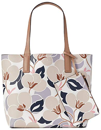 Kate Spade New York Arch Place May Reversible Tote, Breezy Floral Beige (Floral Reversible Tote)