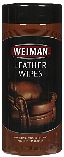 Weiman Leather Wipes 30 ct