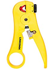 LINKOMM Ethernet Network Cable Adjustable Blade Stripping Tool