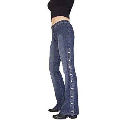 692f59b4de02 Neu US Designer Fitness Jeans 9 Knöpfe am Bein stone bleached Gr3238 ...