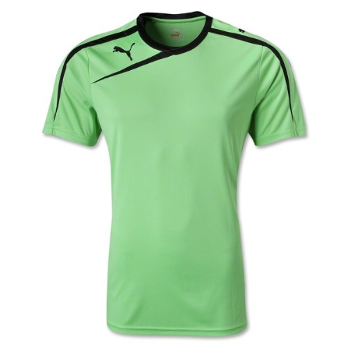 Puma Mens Spirit Shirt Fluo Green-Black