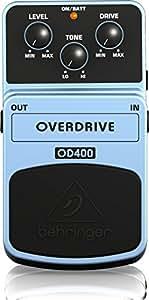 Behringer OD400 - Pedal de distorsión para guitarra
