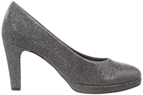 69 Gris Gabor Fashion Shoes Gabor Argento Escarpins Femme qxv0XFxw