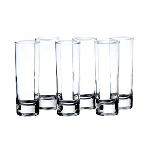 ISLANDE 12-Piece Water/Beverage HIGHBALL Glasses, ARCOROC ()