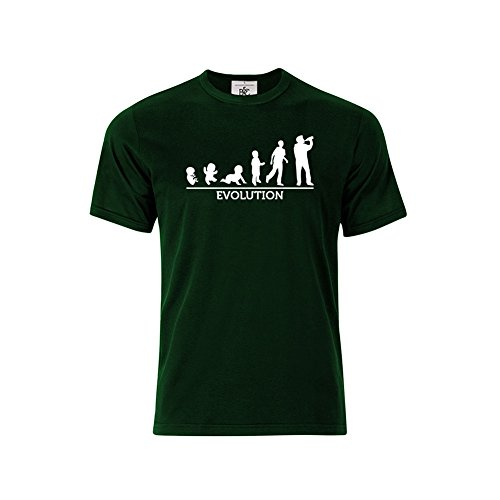 Mygoodprice - Camiseta - para hombre Verde